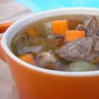 Prime Rib Soup - Leftover bones from a prime rib roast are easily made into this tasty soup.
