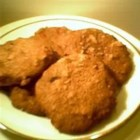 Texas Lizzies - Regular and golden raisins are soaked in whiskey and combined with walnuts, pecans and candied cherries in these spiced drop cookies.