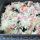 Seafood Lasagna I - A different twist on lasagna for the seafood lover. Great served with garlic bread.