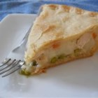 Turkey Pot Pie I - Nothing beats a homemade turkey pot pie filled with leftover turkey, vegetables, and spices!