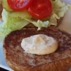 ALLSTAR Hamburger Sauce - This spicy mayonnaise-based burger sauce has mustard, ketchup, relish, Worcestershire sauce, and a couple spoonfuls of Cajun seasoning.