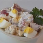 An Updated Red Potato Salad - Classic potato salad gets an update with sour cream and red wine vinegar.