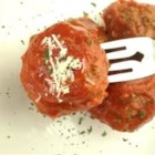Chef John's Italian Meatballs - These Italian meatballs use a standard mix of ground beef and ground pork, with added flavor from parsley, garlic, and dried herbs. Bake up a batch, mix them with your favorite spaghetti dish, and dinner is served!