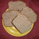 Honey and Flaxseed Bread - This is a very nutritious whole wheat bread with flax oil and seeds, lecithin, gluten and whey.  Honey lends sweet overtones to this bread machine loaf.