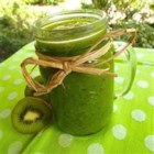 Kiwi Sensation - This kiwi smoothie is extra green from the addition of spinach. Mango and pineapple give extra fruit flavor.