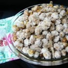 Sugar Peanuts - My parents used to make this easy 3-ingredient snack for football parties. They are great to munch on and everyone loves them.