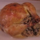 Cornish Game Hens with Rice Stuffing - Attractive Cornish game hens are stuffed with a delicious wild rice mixture!