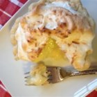 Coconut Cream Meringue Pie - A baked pie shell cuts down the prep time of this coconut cream pie with a meringue topping.