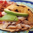 Quick Fish Tacos - Tilapia fillets are pan-fried in a jalapeno-infused oil and served with a quick cabbage slaw. For a milder flavor, remove the seeds from jalapeno peppers before adding to the slaw.