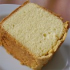 Coconut Sour Cream Pound Cake - Coconut flavoring is the secret to the texture of a smooth, moist pound cake that doesn't contain shreds of coconut.