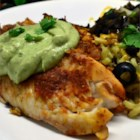 Crispy Chipotle Lime Tilapia with Cool Avocado Sauce - You will love this zesty Southwestern-style fish. If you have any leftovers, they make great fish tacos.