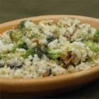 Creamy Broccoli and Rice - This is a quick and easy broccoli side dish that's creamy and filling.