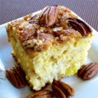 Pecan Pineapple Coffee Cake - Pineapple bits and pecans give this coffee cake a tropical taste, and it's a delicious accompaniment to a hot cup of coffee or tea.