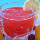 Luscious Slush Punch - This fruity, fizzy, slushy pineapple strawberry punch recipe makes enough to refresh a crowd, perfect for summer parties.