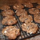 Apple and Spice Cookies - Apple and Spice cookies - egg and milk free.  Great for those with allergies.