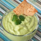 Green Stuff (Cucumber Guacamole) - This light and refreshing avocado dip is made with several green food items.