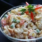 Bacon Ranch Macaroni Salad - This macaroni salad is simply better than others because it has bacon and Cheddar cheese!