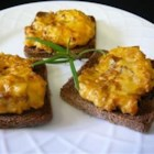 Hanky Pankies - These rye slices topped with sausage and cheese are so easy and so delicious that they are sure to please. In fact, my husband loves them so much that I sometimes make them on regular-sized rye bread for dinner.