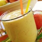 Mango-Peach Smoothie - You can use fresh or frozen fruit in this yummy smoothie.