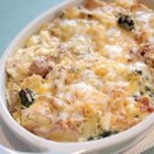 Bacon and Potato Breakfast Strata - This delicious breakfast strata can be prepped and refrigerated up to 24 hours ahead of time, leaving you with time for your family or guests.