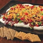 Barbecue-Bacon Party Spread - There's a new player at your football party, and it's got game. This creamy, spicy, cheesy dip-with bacon, no less-will give you a clear home-field advantage.