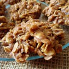 No Bake Choco-Peanut-Oatmeal Cookies - An easy but good cookie to make on a hot day when you don't want to turn on oven.  So easy that even the kids can help.