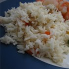 Vegetable Rice Pilaf in the Rice Cooker - Cooking this pilaf in a rice cooks saves space on your stove for cooking other things. Make this vegetarian by using vegetable bouillon instead.