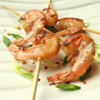 Grilled Kung Pao Shrimp - A quick, spicy marinade prepares shrimp for the grill in this Chinese-style treatment.