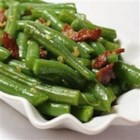 Garlic Green Beans - Caramelized garlic and cheese! Is there anything better with green beans? You'd better make plenty for everyone!
