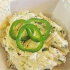 Molly's 'Wannabe' Jalapeno Popper Party Dip - All the fixings for jalapeno poppers are simmered together into a quick and easy dip for your football game watching pleasure.