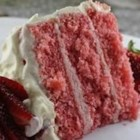 Strawberry Cake from Scratch - It is hard to find scratch strawberry cakes, so this one is worth it weight in gold to me as a caterer.  Frost with cream cheese or vanilla frosting - or for a treat, use a chocolate glaze!