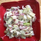 Red Bliss Potato Salad with Gorgonzola and Walnuts
