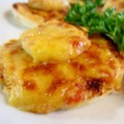 Rarebit Savories - This delicious rarebit is quite easy to make. Cheddar cheese, bacon, and onion are minced fine, and spread onto bread before being toasted in the oven. It really makes a great appetizer or hors d'oeuvre for a cocktail party.