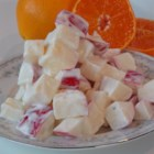 Crisp Apples with Citrus Dressing - Winter's apples and tangerines form the basis for this simple fruit salad you can toss together in minutes.