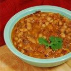 Pinto Beans With Mexican-Style Seasonings - Hearty, flavorful pinto beans cooked with Mexican-style seasonings make a great side dish, a topping for cornbread, or just a tasty bowl of warming goodness on a cold day. The beans soak all night and simmer for hours until tender. You can simmer them all day if you like.
