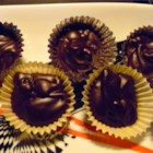 Twilight Dark Chocolate Truffles - These truffles are made with heavy cream, butter, baking chocolate, chocolate chips, and espresso powder.