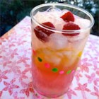 Sarasota Lemonade - A lovely pink version of sangria made with fruity moscato wine and raspberries is perfect for sipping while relaxing around the pool.