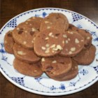 Chocolate Refrigerator Cookies - Dough is refrigerated and cut.