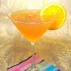 The Lisa-tini Martini - Lemon vodka, orange liqueur, and champagne are the key ingredients in this bubbly martini.