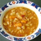Luscious Lima Bean Soup - This wonderful vegetable and lima bean soup lives up to its name.  You must allow 1 1/2 hours of simmer time, and the lima beans must be soaked for two hours prior to cooking, but the results are well worth the time.
