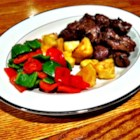 Teriyaki Beef Kabobs - Everyone will love these grilled skewers of bell pepper, pineapple, and marinated beef.