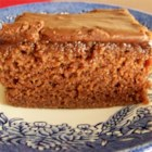 Texas Sheet Cake I - This is an easy and very good potluck cake.  Serves several.