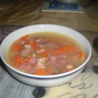 Ham and Great Northern Bean Soup