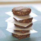 Healthier No Bake Cookies I - These no-bake cookies are made healthier with oatmeal and unsweetened coconut.
