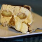 Tiramisu I - Coffee soaked ladyfingers layered with a custard of sweetened mascarpone cheese with a hint of brandy.