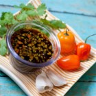 Spicy Habanero Dipping Sauce - This spicy sauce with fresh habanero pepper is a great accompaniment for vegetables or grilled meats.