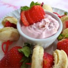 Very Dairy Strawberry Shortcake Dip
