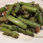 Fried Asparagus - Asparagus pieces are breaded and fried until crispy and golden. This recipe is perfect to disguise asparagus for picky eaters.