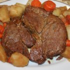 Easy Pressure Cooker Pot Roast - VERY tender and delicious. Using the pressure cooker saves SO much time that this recipe can be used on a weekday and still you can manage to eat dinner at a decent hour.