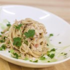 Easy Carbonara Sauce - Rich and creamy carbonara sauce is ready in just 30 minutes for a quick and easy pasta sauce served over your favorite pasta.